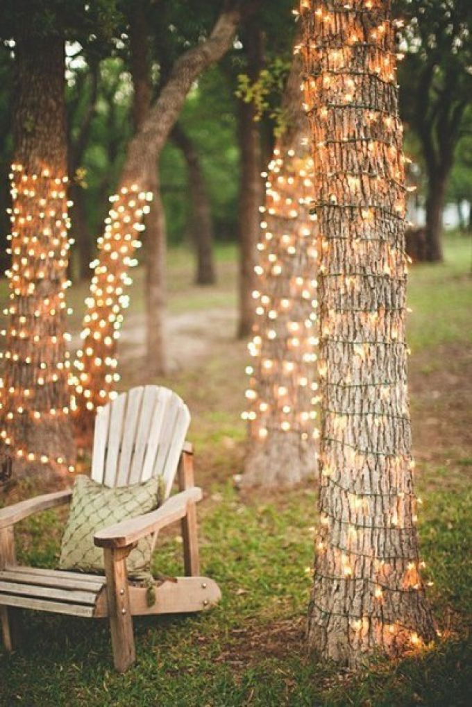 садовое освещение гирлянды для сада