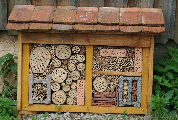 домики для насекомых своими руками