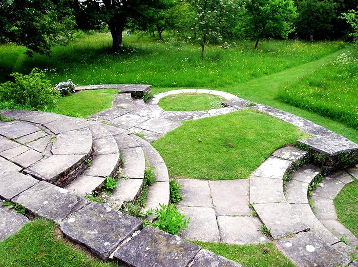 красивый сад Грейт Дикстер сад Кристофера Ллойда садовая дорожка
