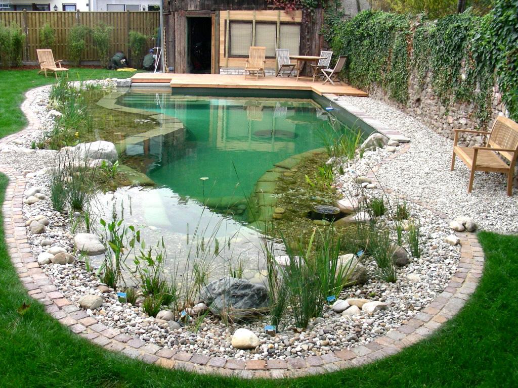 альпийская горка гравийный сад оформление водоема ландшафтный дизайн