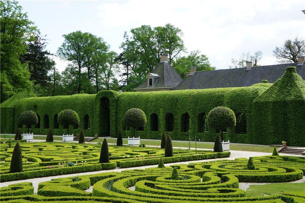 лабиринт Хет Лоо Нидерланды садовый лабиринт