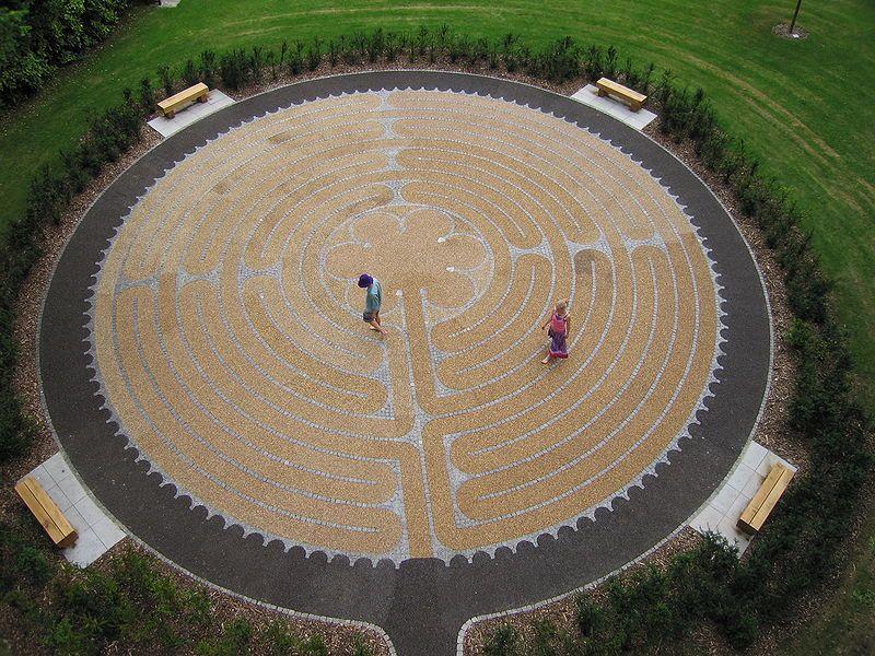 садовый лабиринт Эдиндург Шотландия