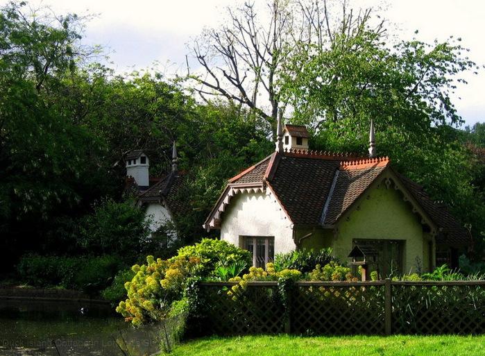 коттежные сады Англии красивый сад