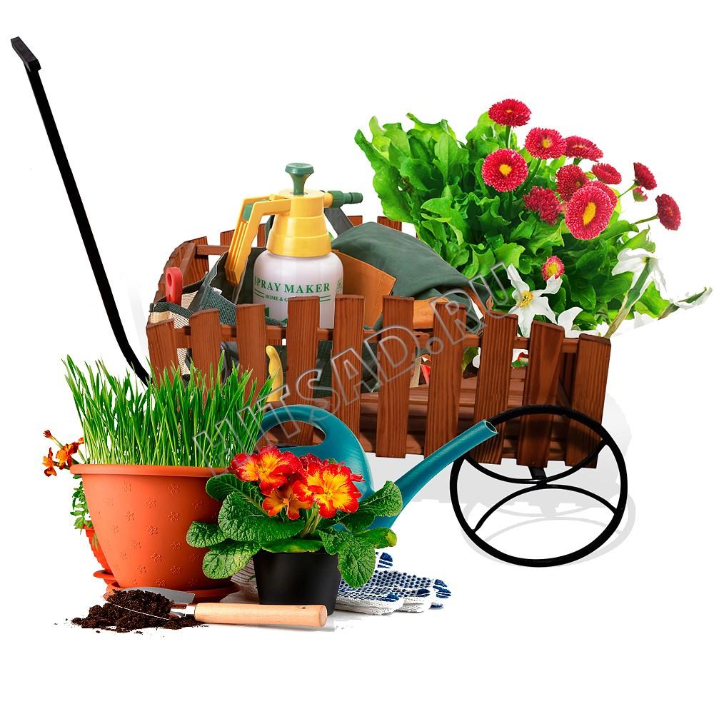 тележка для цветов для цветочных горшков
