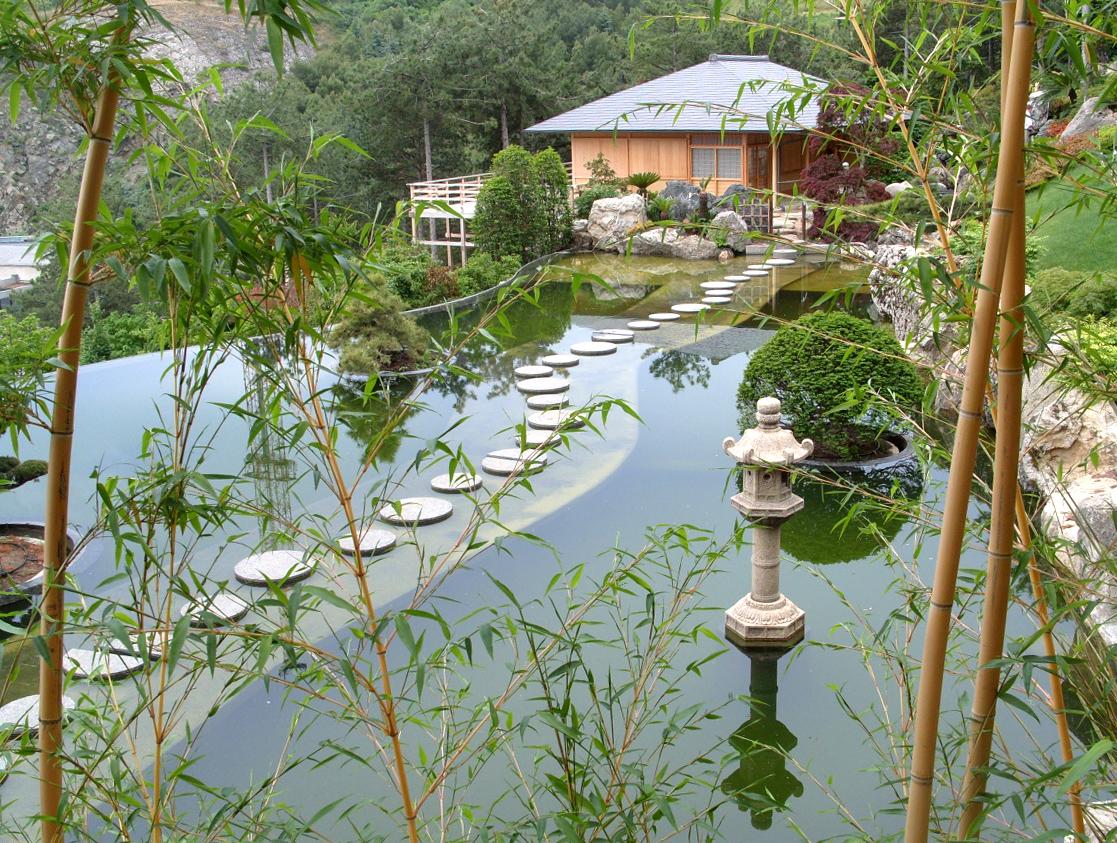 японский сад символизм японских садов бамбук