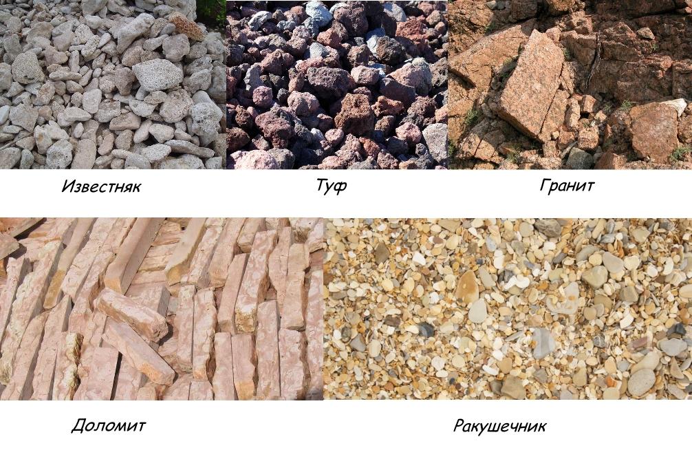 материалы для садовых дорожек из камня