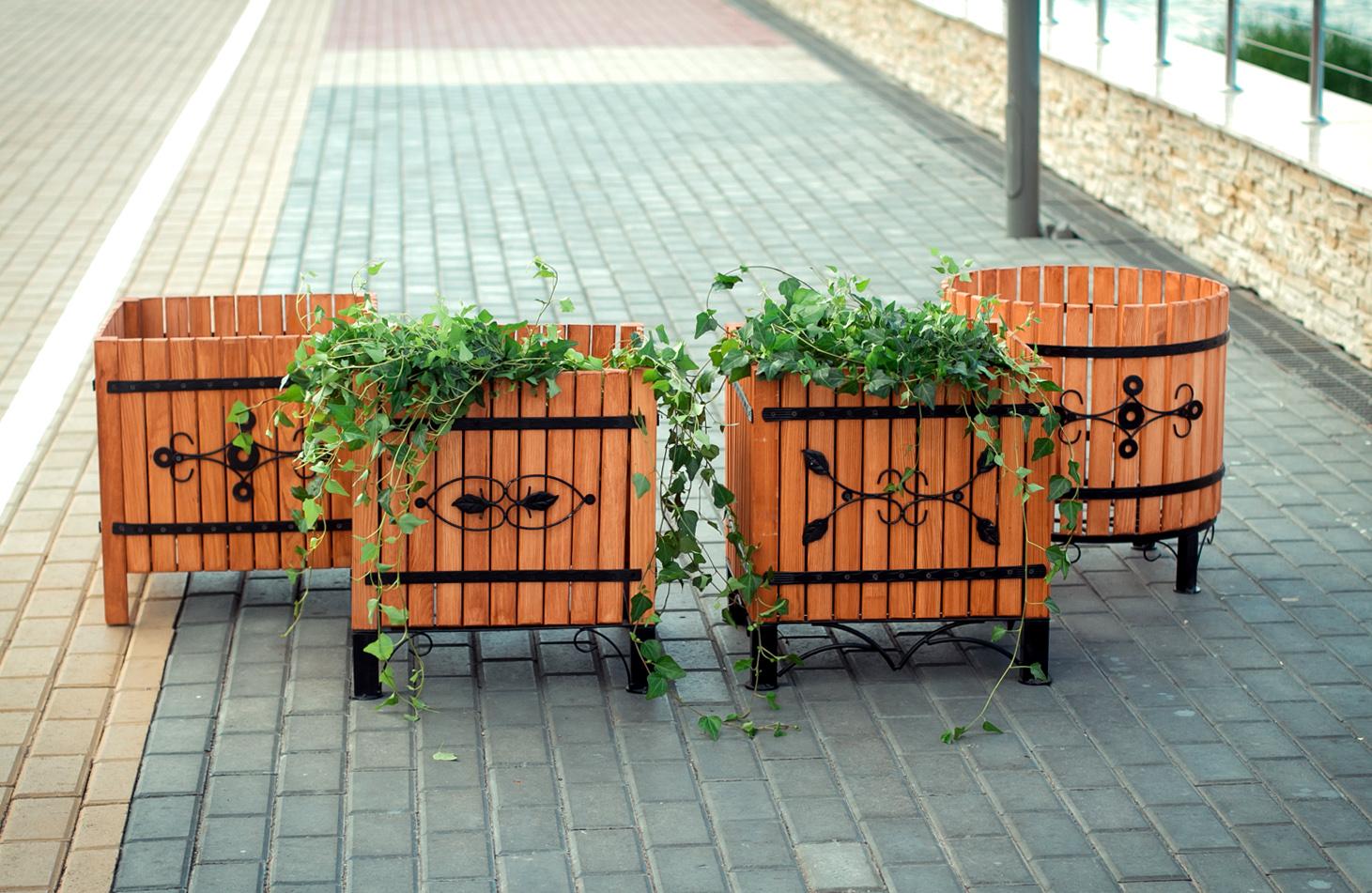 кадки контейнеры для цветов растений купить недорого со скидкой