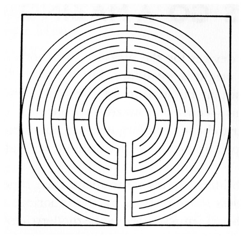 лабиринт минотавра схема