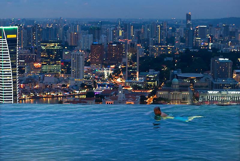 Отель «Marina Bay Sands Hotel and Casino», Сингапур