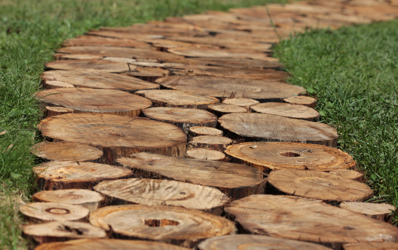 Дорожки из дерева