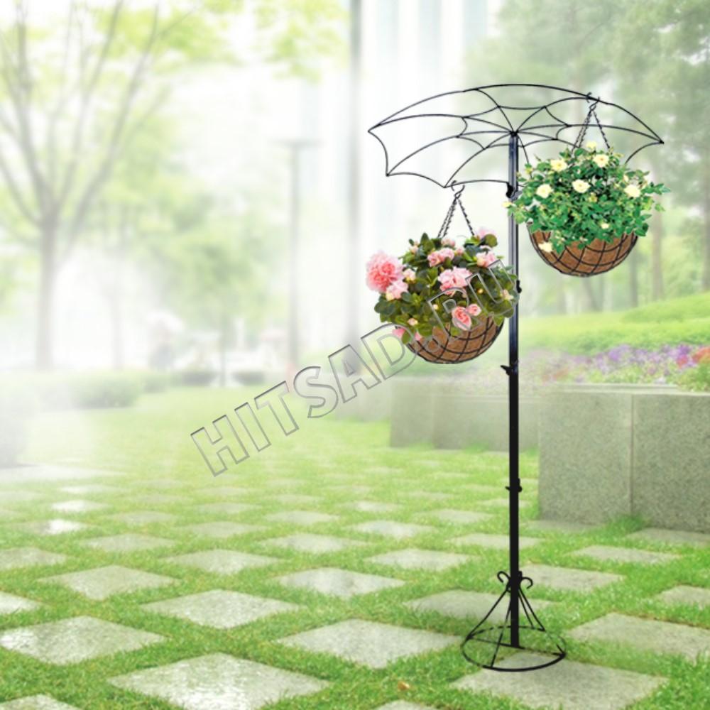 вертикальное озеленение подставки для ампельных растений