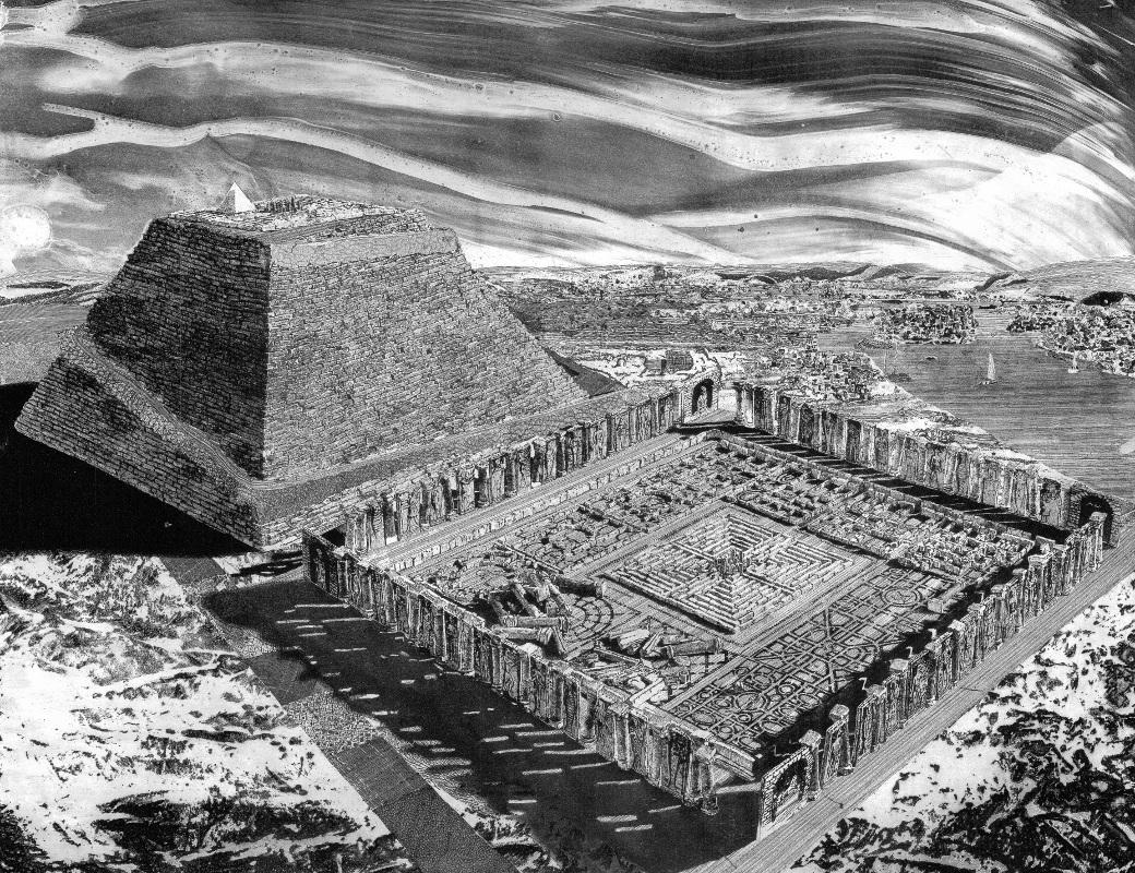 лабиринт Аменемхета