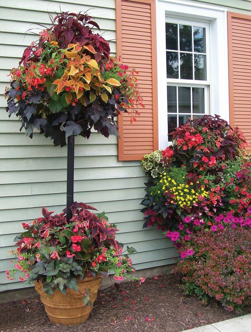 вазон для цветов мобильная клумба Памела Кроуфорд