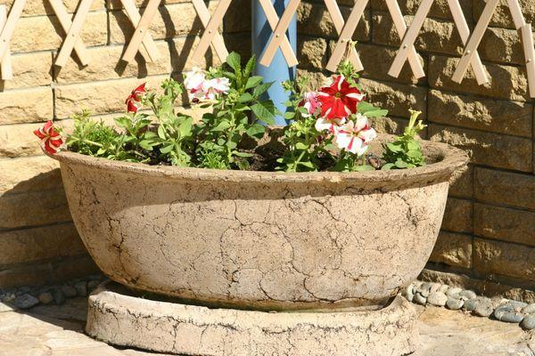 цветочные контейнеры для украшения патио или веранды