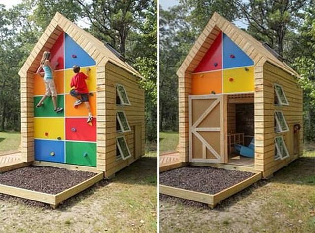развивающий домик для ребенка