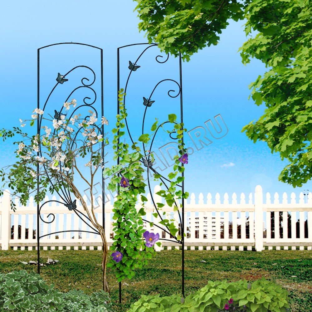 вертикальное озеленение шпалеры для растений