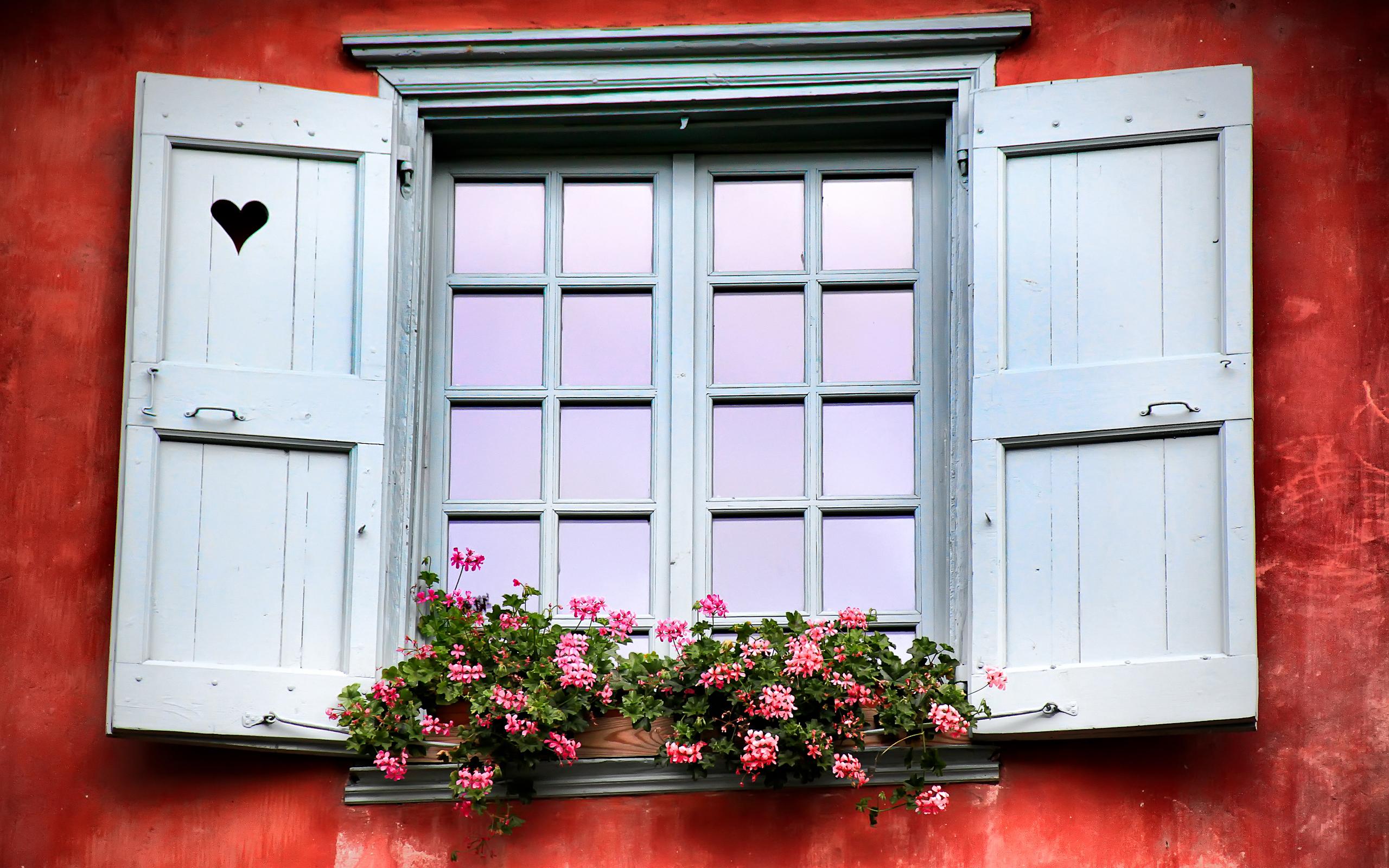деревянные ставни балконные ящики для цветов