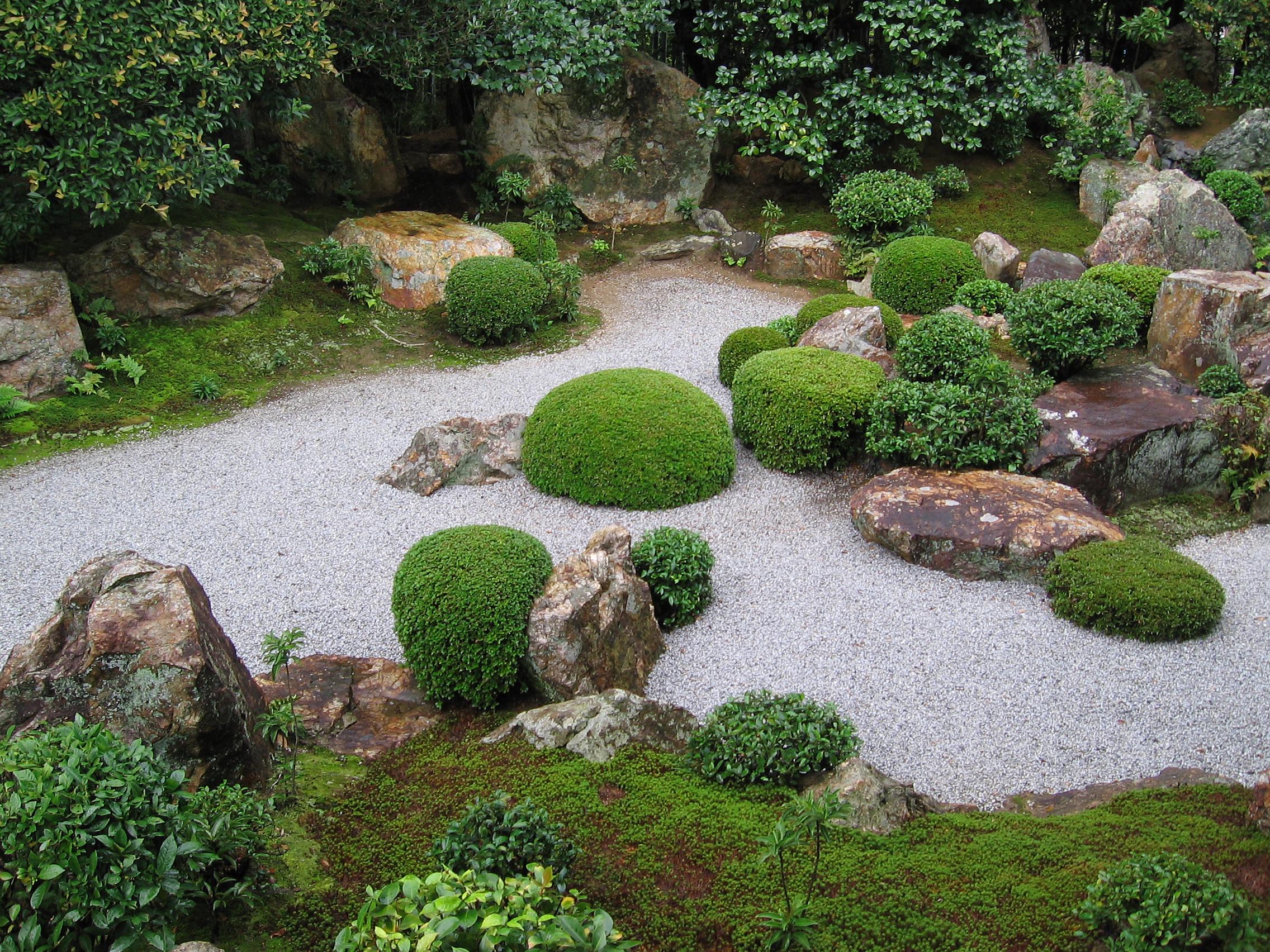 японский сад сад в японском стиле сухой ручей