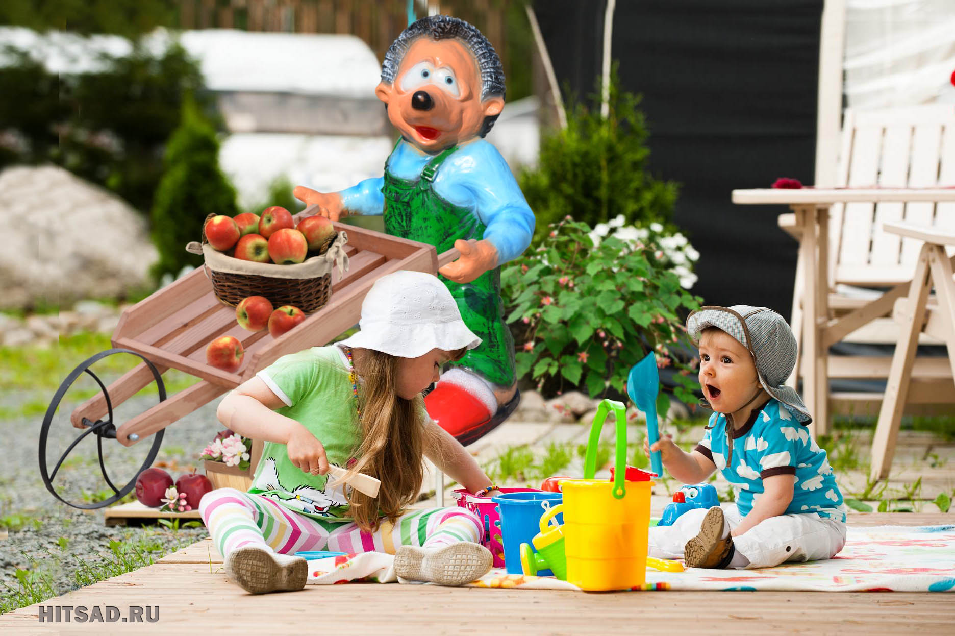 распродажа садовой детской мебели