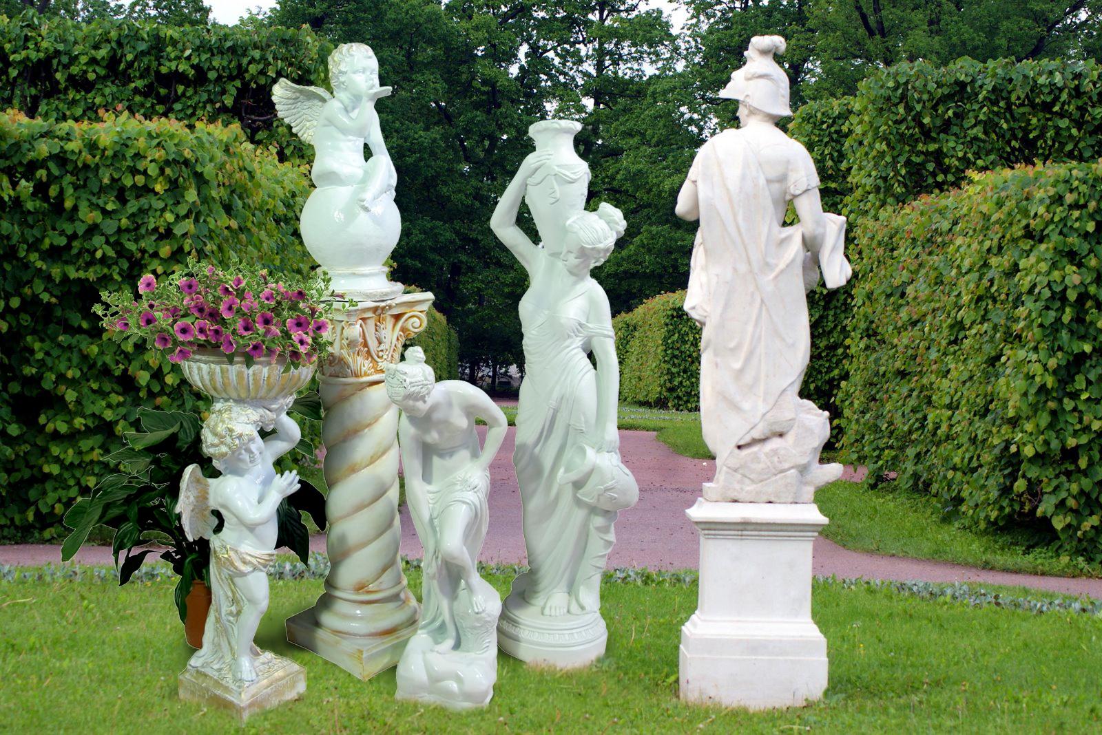 садовые скульптуры из стеклопластика интернет магазин