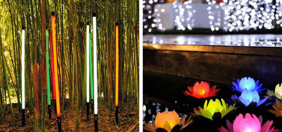 декоративное освещение для сада своими руками
