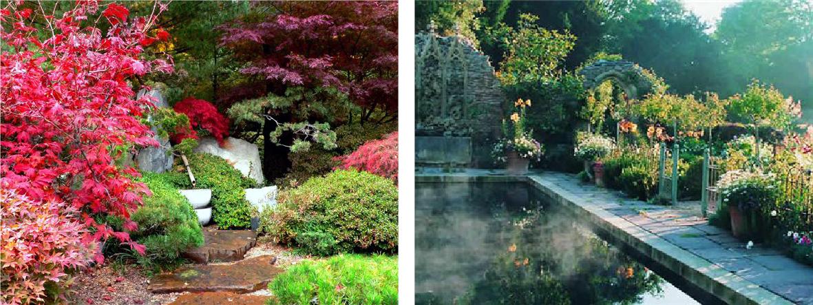 ландшафтный дизайн примеры оформления разных стилей