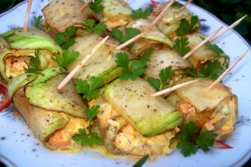 готовим на летней кухне кабачки с морковью