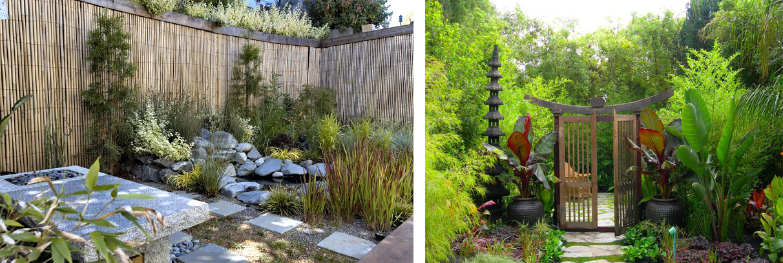 идеи для ландшафтного дизайна сад в восточном стиле