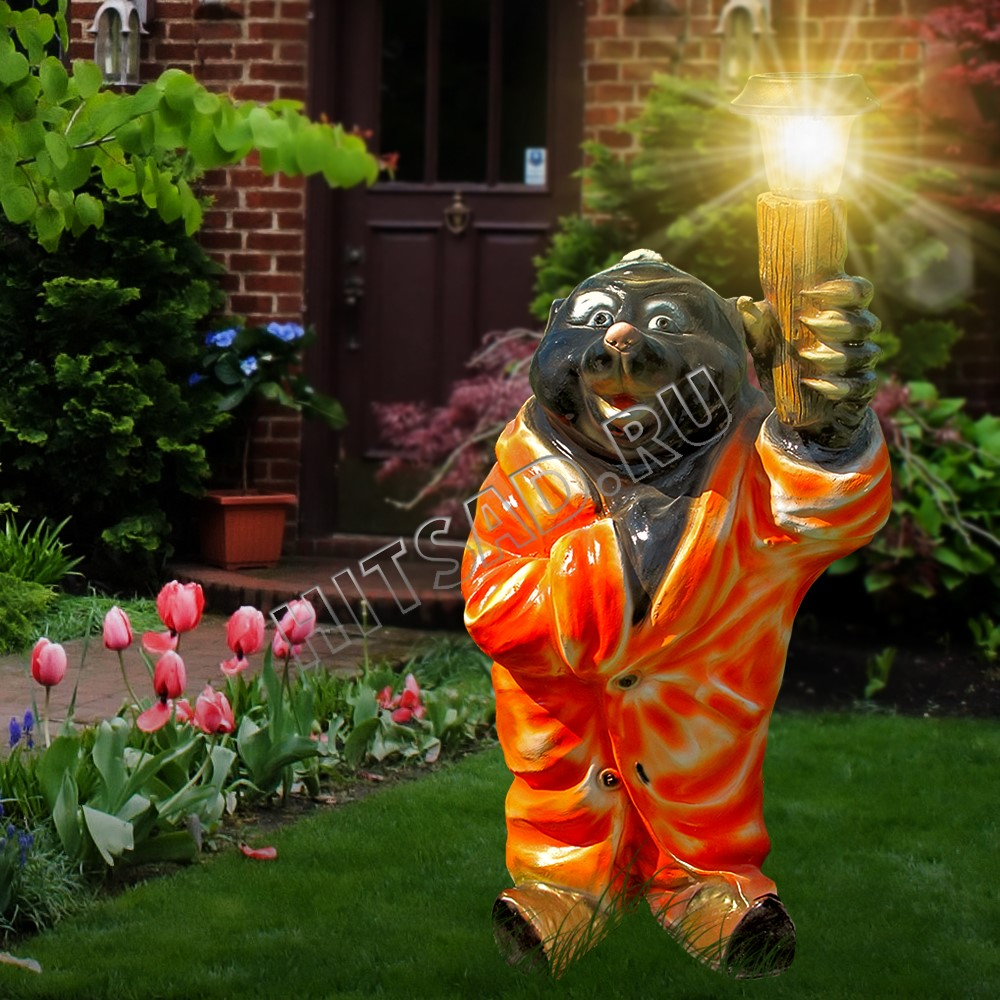 садовые фигуры с фонарями недорого