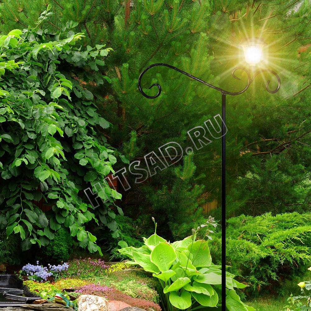 освещение для сада шпалеры для растений с фонарями