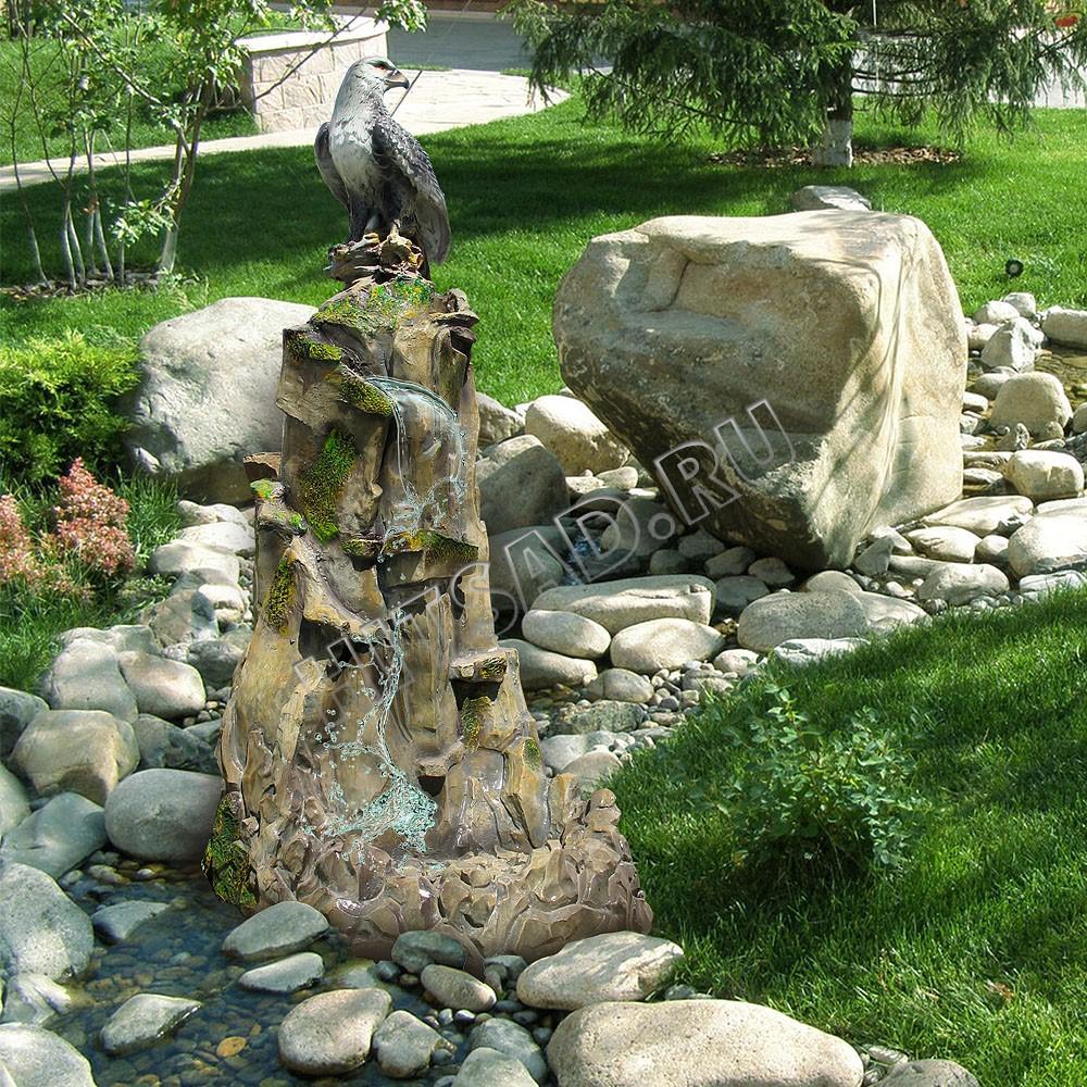 садовые декоративные фонтаны