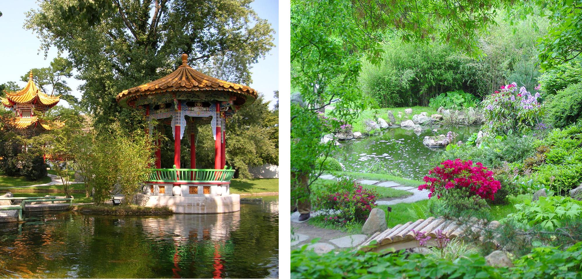 отличия японского сада от китайского