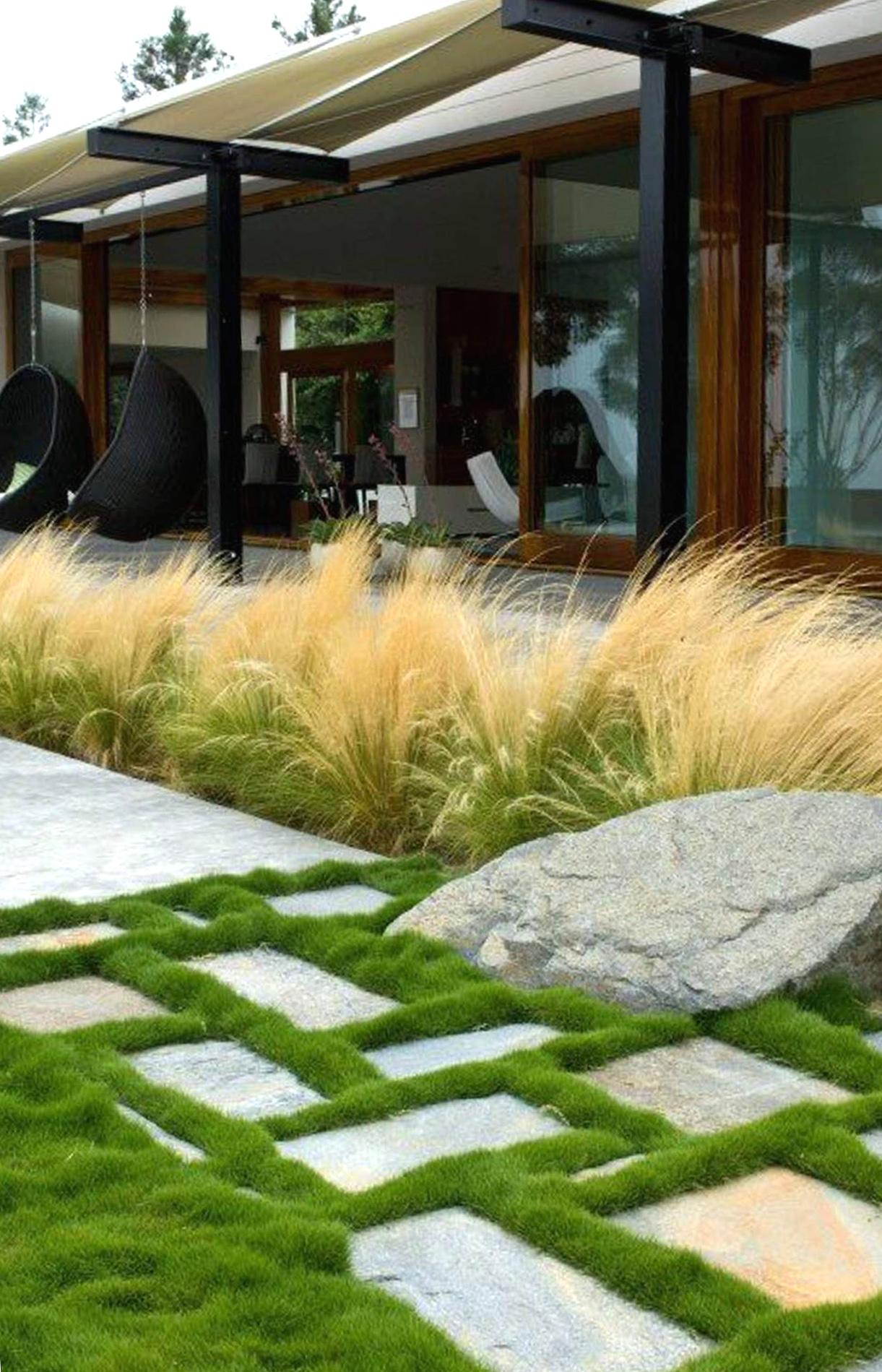 Садовые стили сад в стиле брутализм