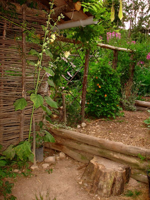 сад на склоне своими руками