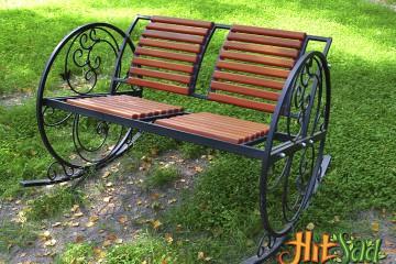 кресло качалка для сада купить недорого