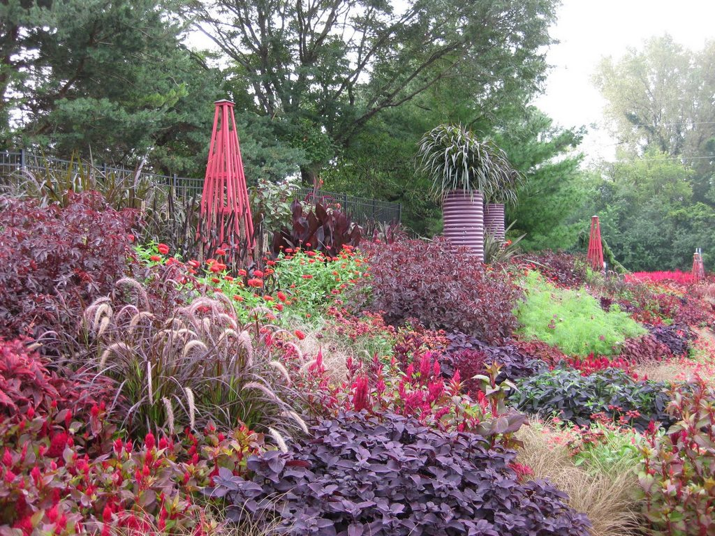ландшафтный дизайн сада на склоне своими руками