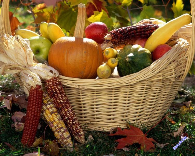 Сырые и вареные овощи
