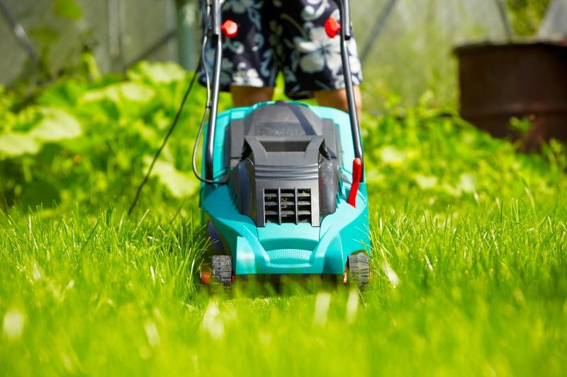 Прочесываем газон и открываем доступ для воды и кислорода